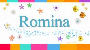 Romina, significado del nombre Romina, nombres