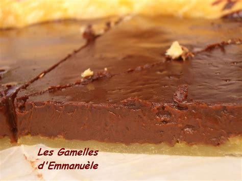 tarte feuillet 233 e au chocolat