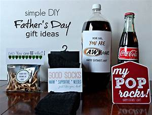 Simple DIY Father's Day Gift Ideas with Free Printable ...