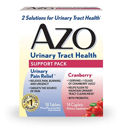 azo urinary tract health pack  relieves supports