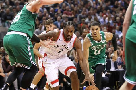NBA: Kawhi, Raptors heat up in second half, sink Celtics ...