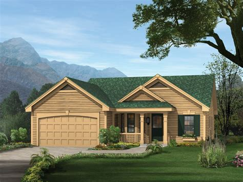bedroom  bath cabin lodge house plan alp  chatham design group