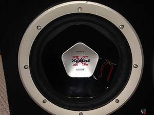 "Sony Xplod dual 12"" 1000W Subwoofers ported Enclosure ..."