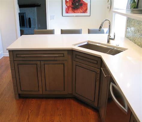 corner undermount kitchen sinks corner kitchen sink hac0 5876