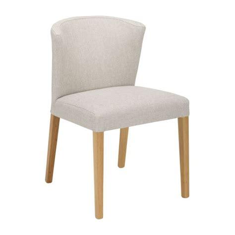 habitat chaise de bureau valentina chaises de salle à manger gris souris tissu bois