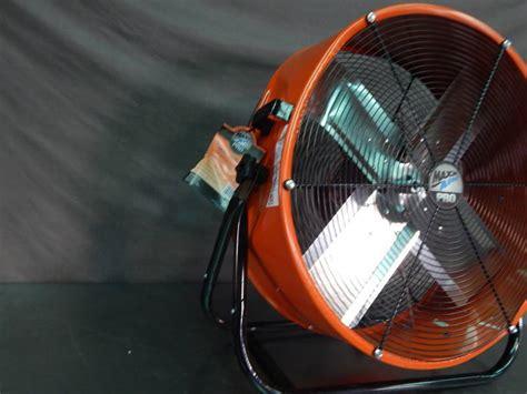 max air pro fan maxx air pro 24 quot barrel fan portable a c fans led