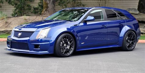 canepa cadillac cts  wagon body kit