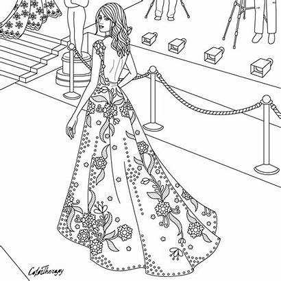 Coloring Carpet Colouring Clipart Mat Adult Adults