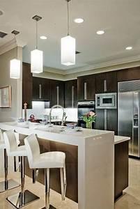 Meuble Cuisine Design : milles conseils comment choisir un luminaire de cuisine ~ Teatrodelosmanantiales.com Idées de Décoration