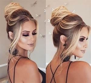 Coiffure Simple Femme : coiffures femme 2018 10 photos coiffures qui sublime cette saison coiffure simple et facile ~ Melissatoandfro.com Idées de Décoration