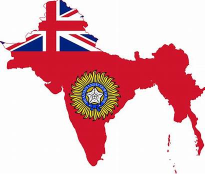 India 1947 China British Flag Gained Partition