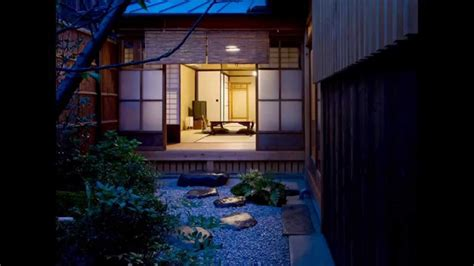 shouan kyoto machiya townhouse pv youtube