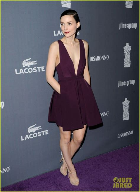 rooney mara sexy rooney mara in the beautiful nude shoes and purple full