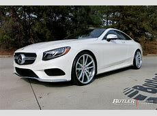 Mercedes SClass Coupe with 22in Vossen CG203 Wheels