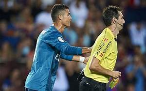 cristiano ronaldo banned for five matches for pushing