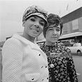Welsh singer Shirley Bassey with her daughter Sharon Novak ...