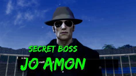 yakuza  secret boss jo amon legend youtube