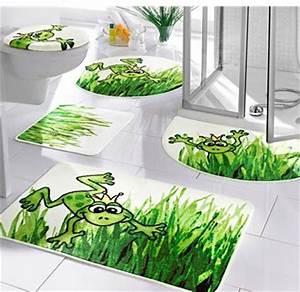 Badteppich Set Grün : badematte badteppich gr n frosch 80 x 150 matte neu ebay ~ Markanthonyermac.com Haus und Dekorationen