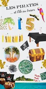 Deco Anniversaire Pirate : idee de deco pirate et ile au tresor tropical anniversaire pirate pinterest deco pirate ~ Melissatoandfro.com Idées de Décoration