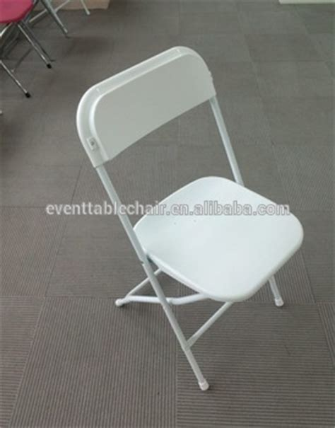 white plastic lightweight folding outdoor event chairs for