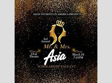 3rd Annual Mr & Ms ASiA scholarship pageant Asia Trend