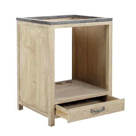 Möbel Aus Recyclingholz by K 252 Chenunterschrank Aus Recyclingholz F 252 R Backofen B 64 Cm