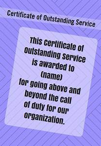 Recognition Certificate Wording 31 Best Images About Award Certificate Templates On
