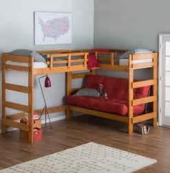 bunk beds with desk sentogosho
