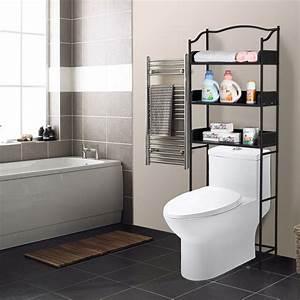Bathroom, Rack, Over, Toilet, 3