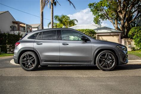 For the extra £2,500 beyond the standard car, the premium trim adds extras including a larger digital driver's. 2020 Mercedes-AMG GLA35 4Matic review | CarExpert