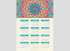 Calendario 2018 Colombia Para Imprimir Pdf Calendar