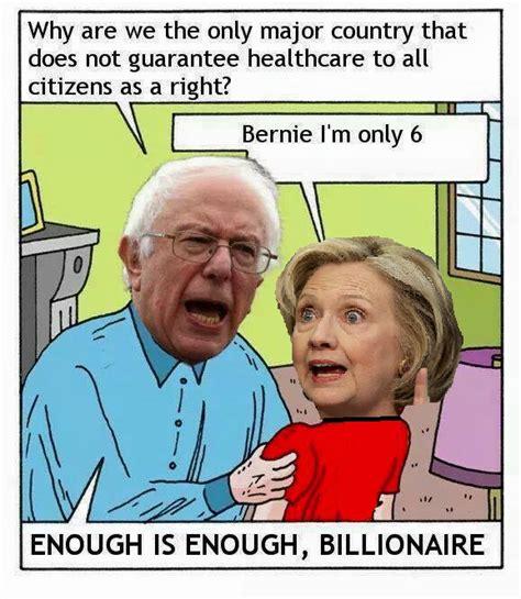 Bernie Hillary Memes - bernie sanders hillary clinton blank template imgflip