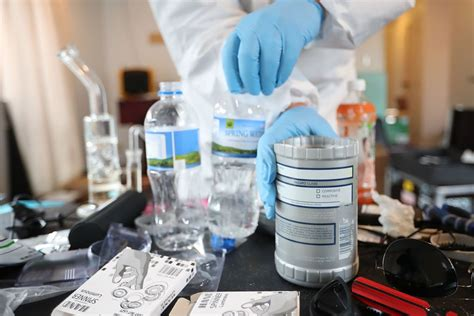 recognize  meth lab