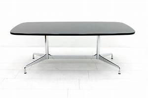 Charles eames segmented dining conference table desk for Tisch eames