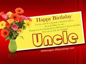 Birthday Wishes Uncle