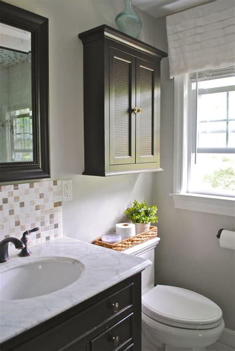 bathroom  toilet cabinet  easy access