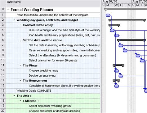 wedding planner planners templates