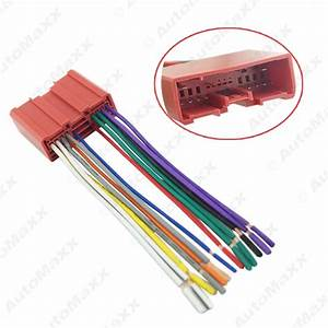 Feeldo Car Accessories Official Store  Mazda Car Radio Cd Player Wiring Harness Audio Stereo