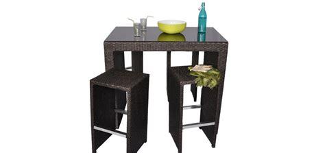 table de jardin avec chaise pas cher table bar de jardin pas cher