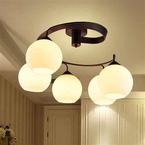Lámparas de techo modernas de comedor Lámparas de techo