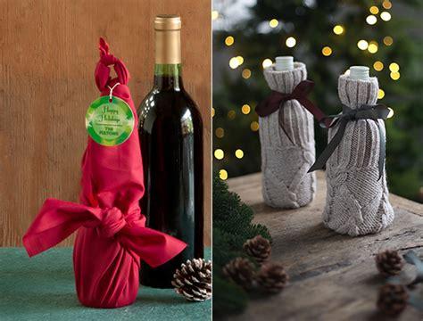 flaschen originell verpacken schnell und originell die weihnachtlichen geschenke