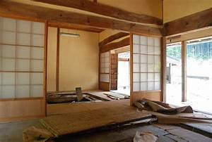 Architecture Japonaise Traditionnelle : maison ancienne traditionnelle japonaise la campagne au japon ~ Melissatoandfro.com Idées de Décoration