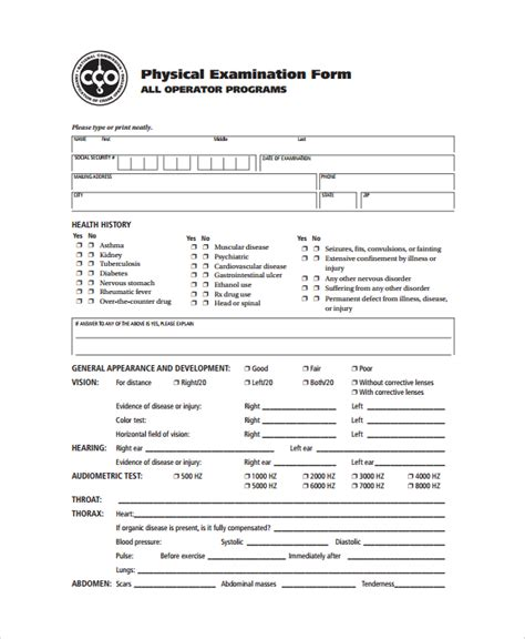 9+ Sample Physical Exam Forms  Pdf  Sample Templates. Wellness Fair Ideas. Free Facebook Templates. Conference Poster Template. Word Organization Chart Template. Job Fair Flyer Template. John Hopkins Graduate Programs. Template For An Invoice. Earnings Statement Template Free