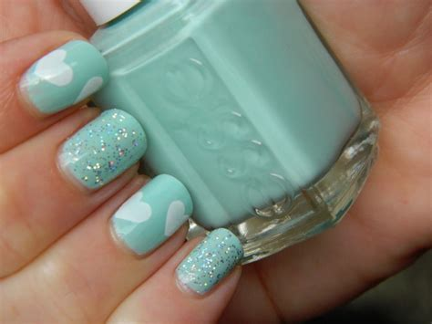 lovely mint nail designs  draw inspirationfrom