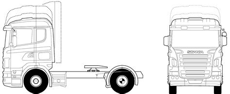 scania rla  mna twin axle heavy truck