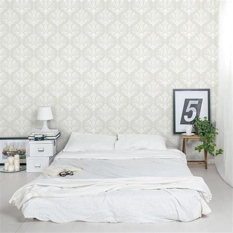Damask Wall Sticker   Damask Removable Wallpaper