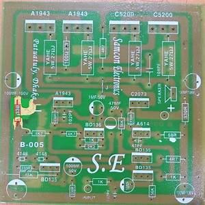 Transistor Circuit Diagram Of 2sa1943 And 2sc5200