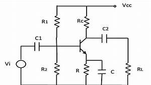 Circuit Diagram Of Transistor Ce Amplifier