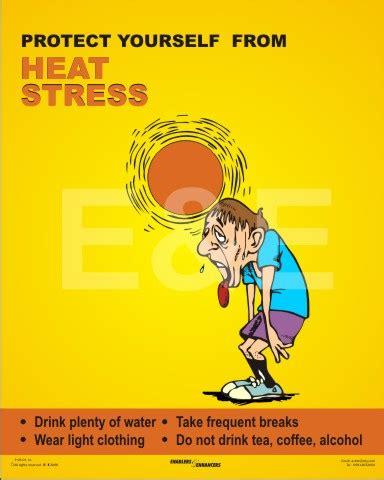 Heat Stress Safety Cartoons
