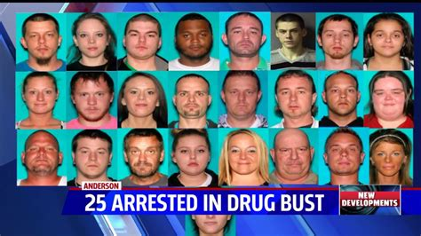 arrest 25 linked to county meth bust fox59
